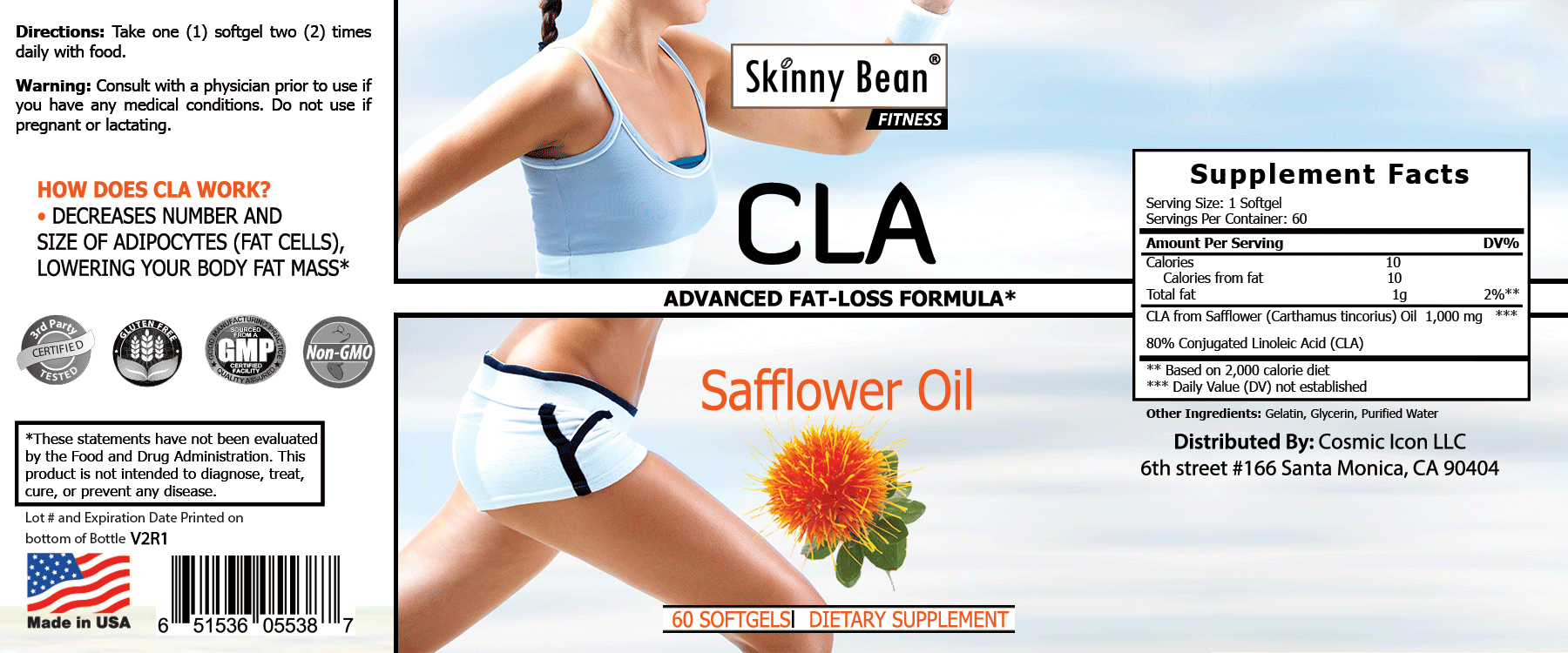 CLA – BMI Lowering Safflower Oil