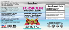 STRONG 500MG Forskolin Fat Burning
