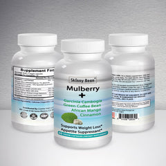 White Mulberry Max Plus + Garcinia Cambogia, Green Coffee Bean, African Mango, Cinnamon