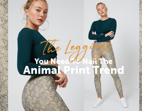 The Leggings You Need To Nail The Animal Print Trend