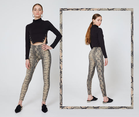 World of Leggings Animal Print Leggings 1