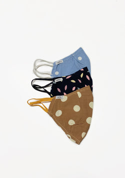 Multi Polka Dot Face Mask Set for Women from WOL