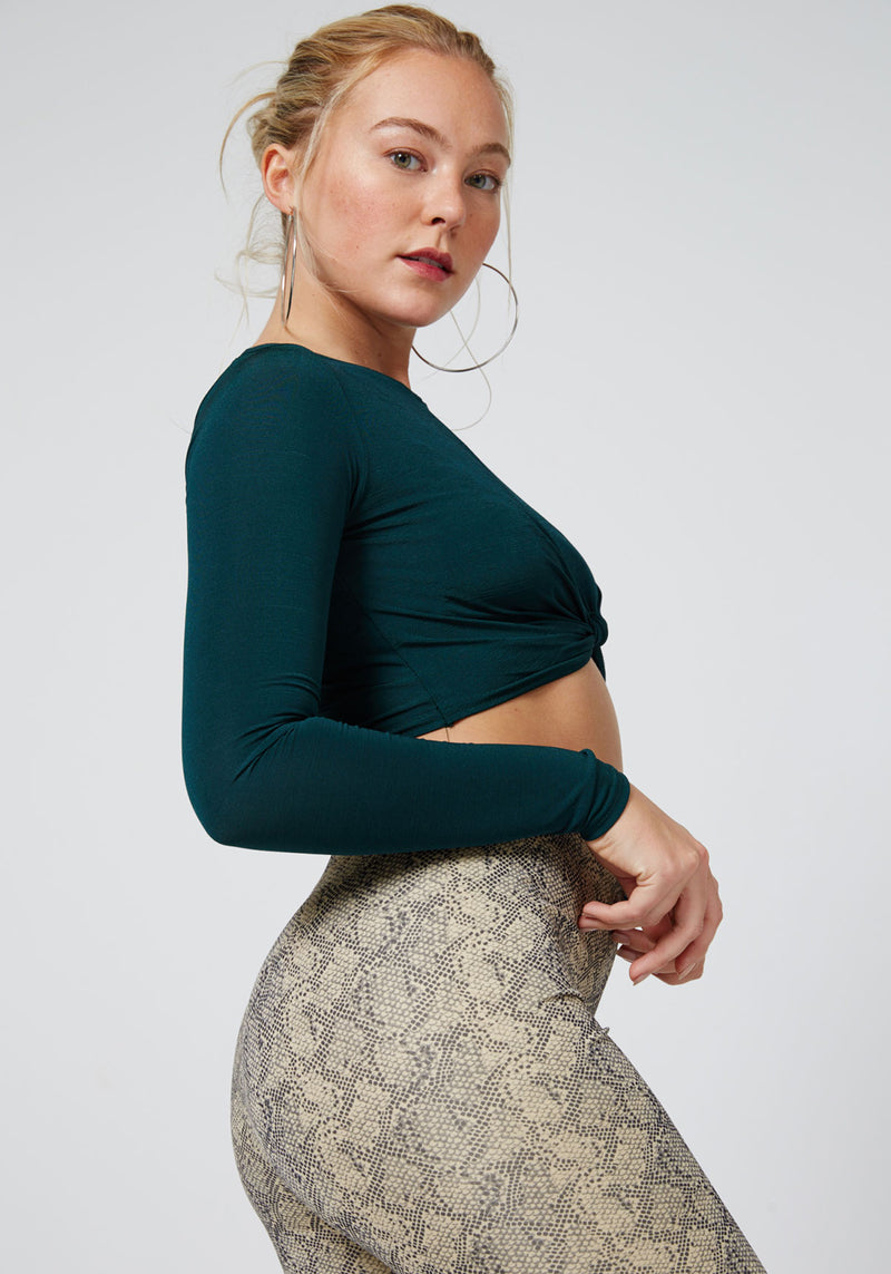 World of Leggings High Waisted Snake Leggings