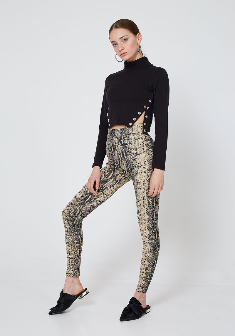 world of leggings UK Snake Skin Leggings