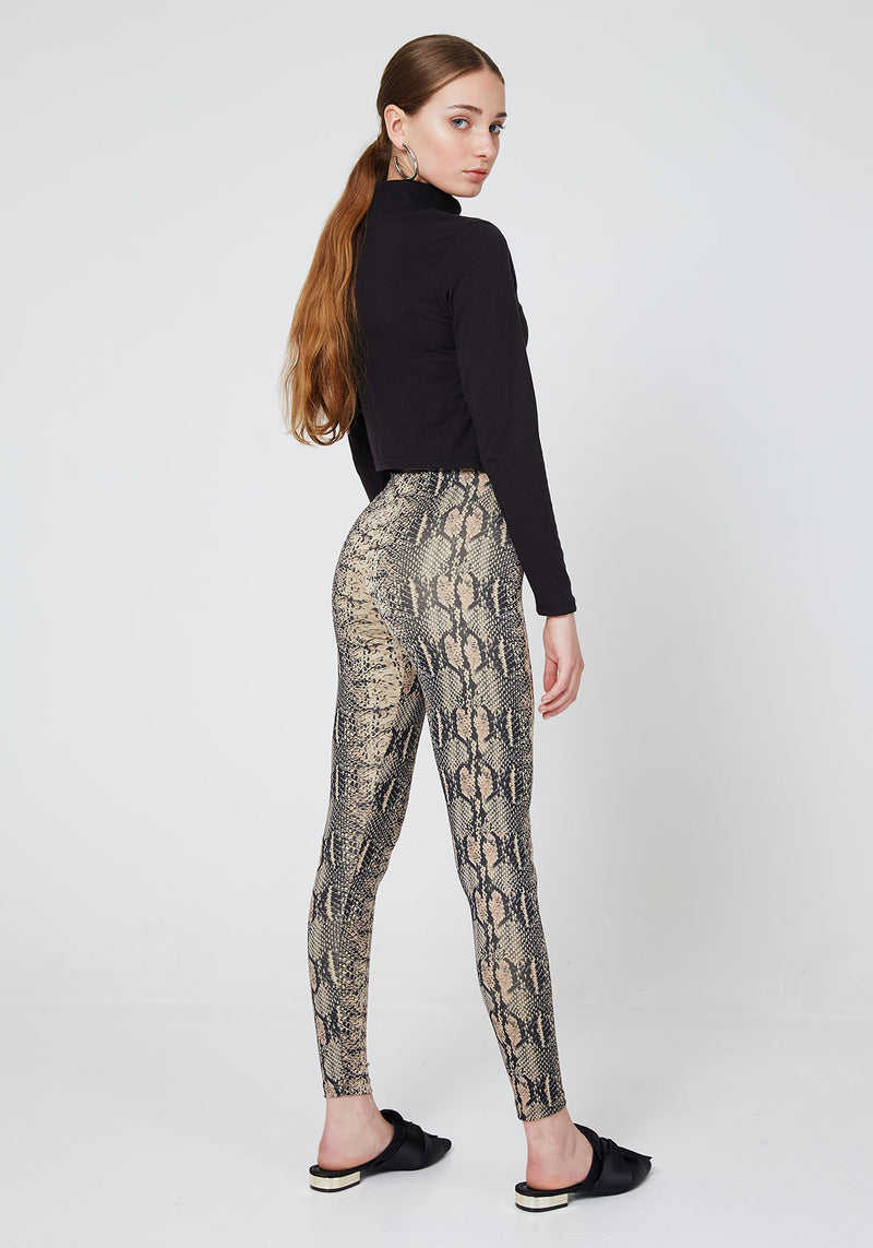 Snake Skin Leggings for Women
