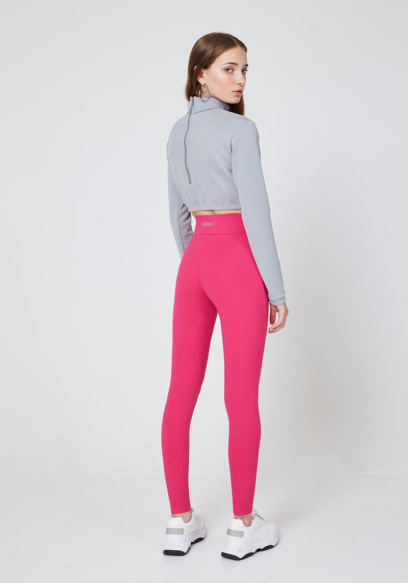 2 Pack - Pink Classic High Waisted Slogan Leggings