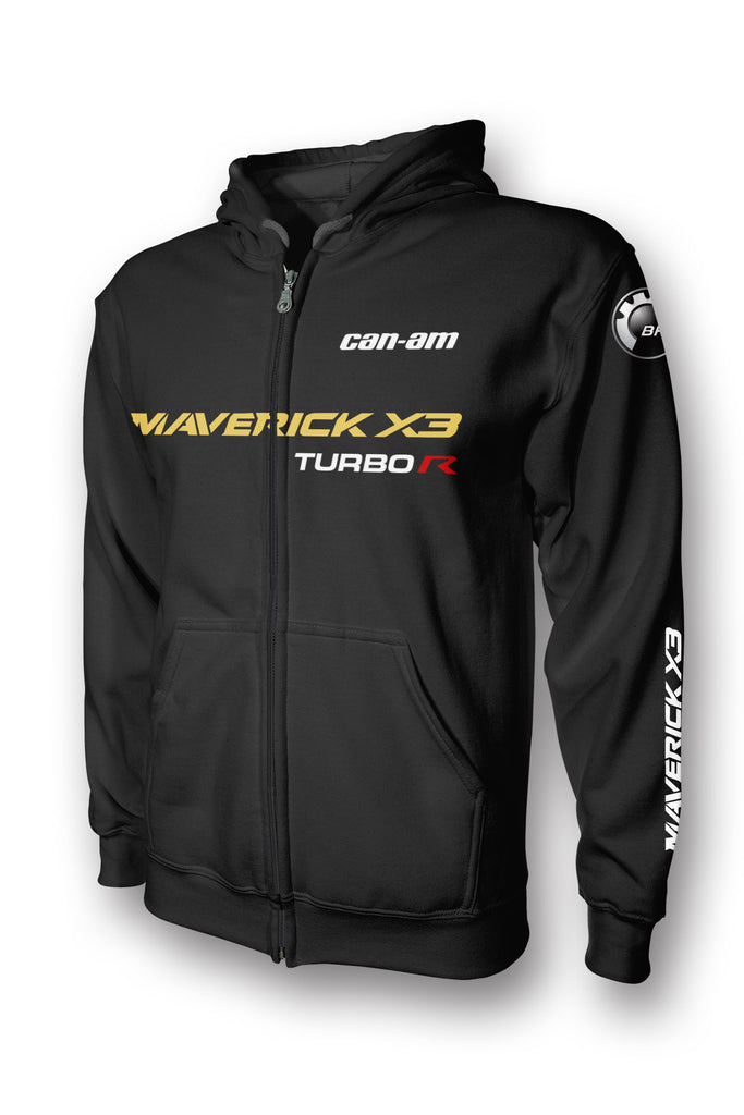 CAN-AM MAVERICK X3 Turbo R  Full-Zip Hoodie