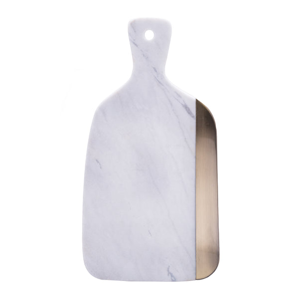 Luxury Marble & Metal Cutting Board (Grande)
