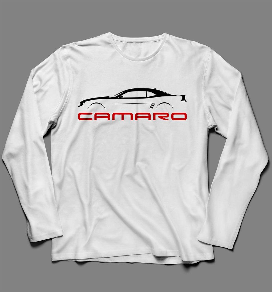 Chevrolet Camaro Long Sleeve Tshirt