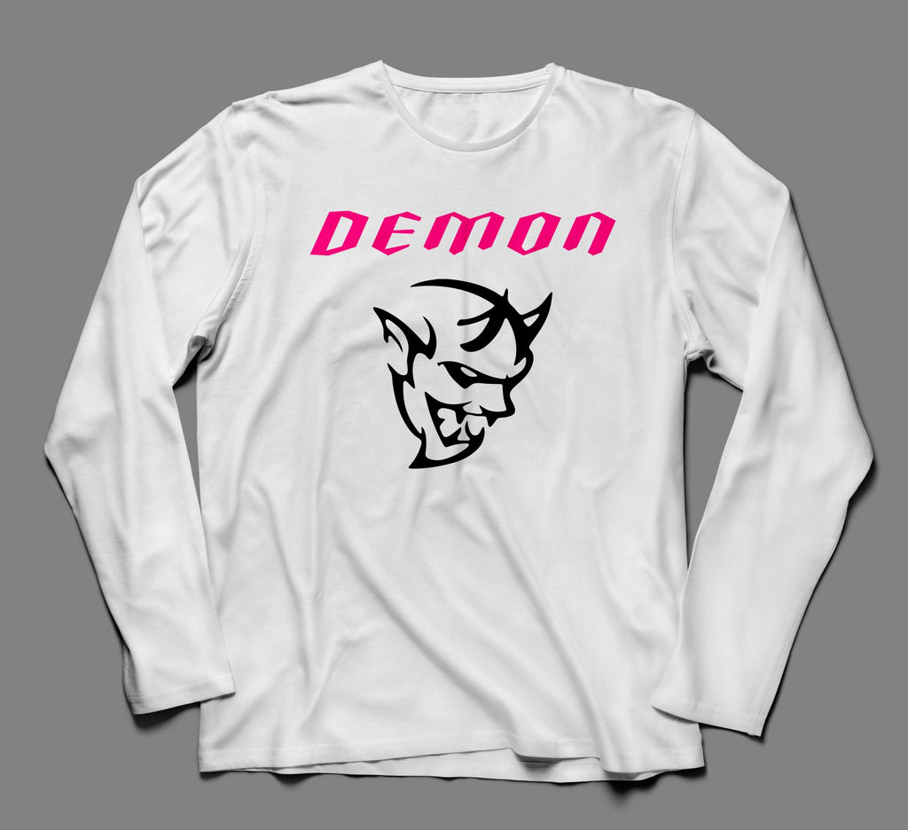 Dodge SRT Demon Long Sleeve Tshirt