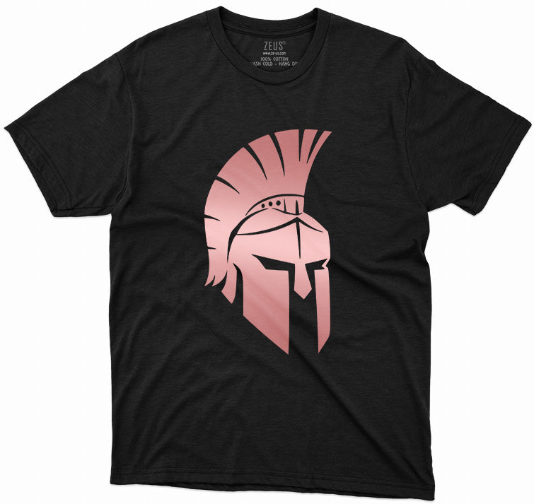 Gladiator Helmet Metallic T-Shirt