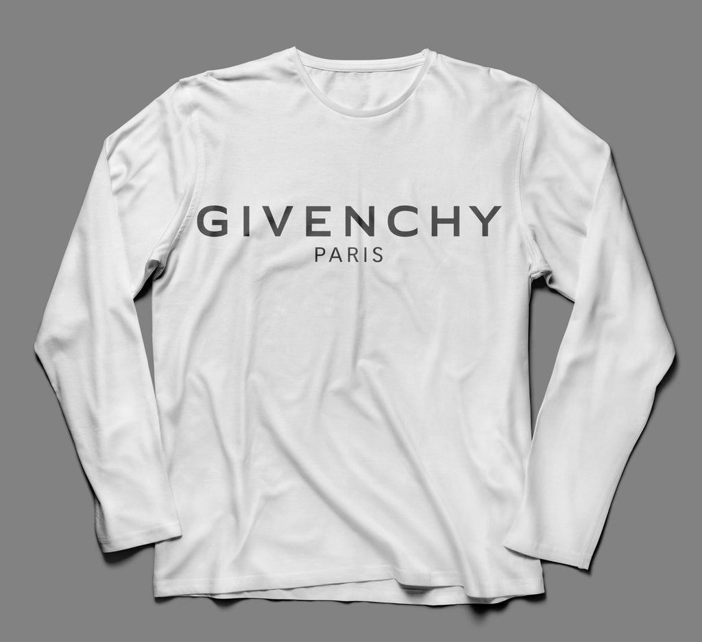 Givenchy Multicolor Designer Inspired Long Sleeve Tshirt
