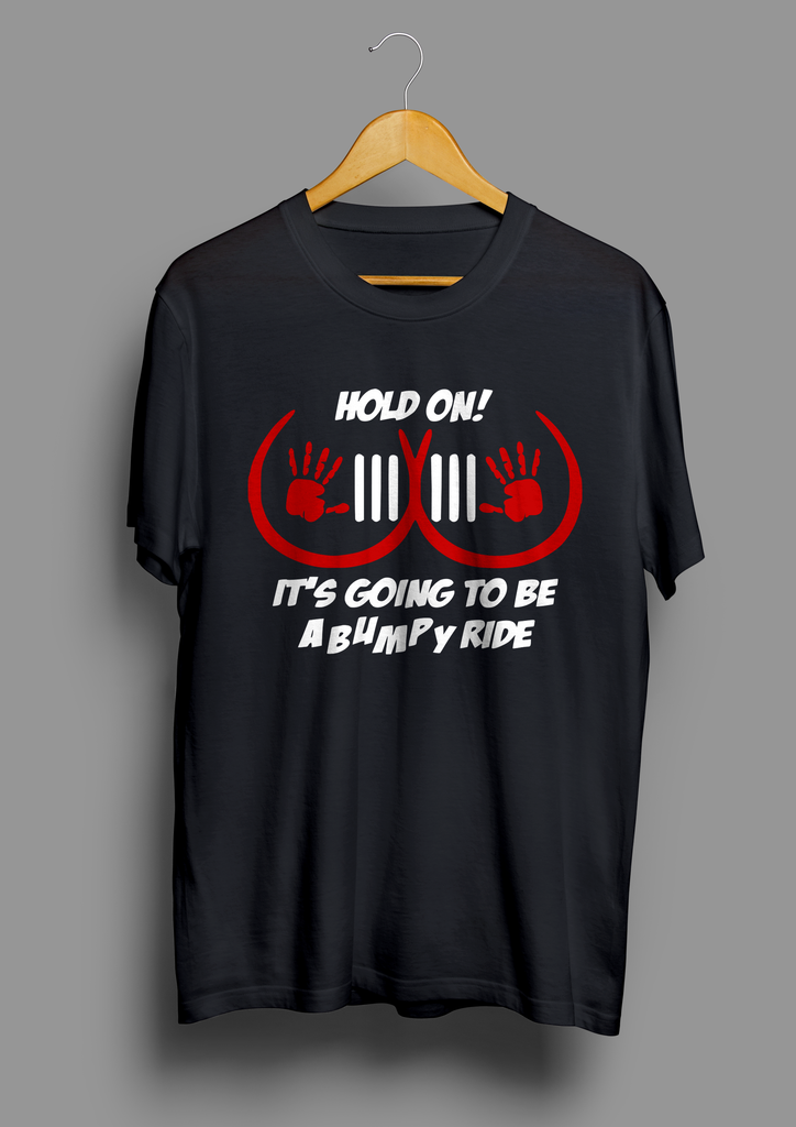 Jeep Hold On Bumpy Ride T-Shirt