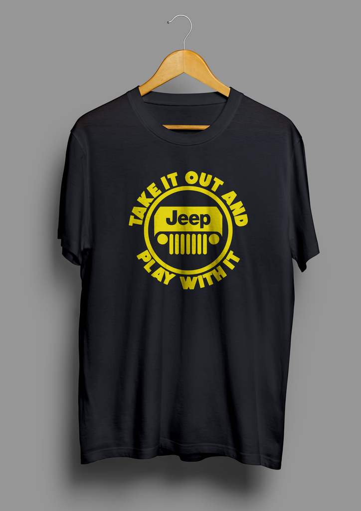 Jeep Take Out And Play With It T-Shirt