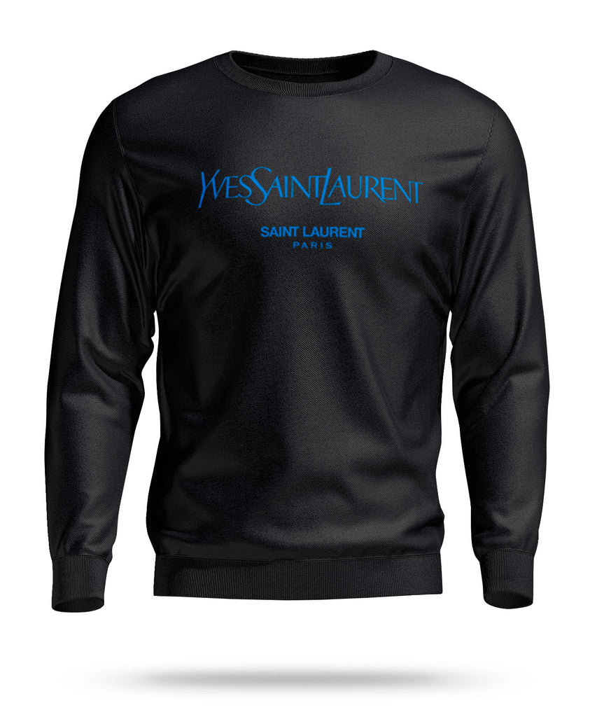 Yves Saint Laurent Paris Designer Inspired Pullover Sweatshirt