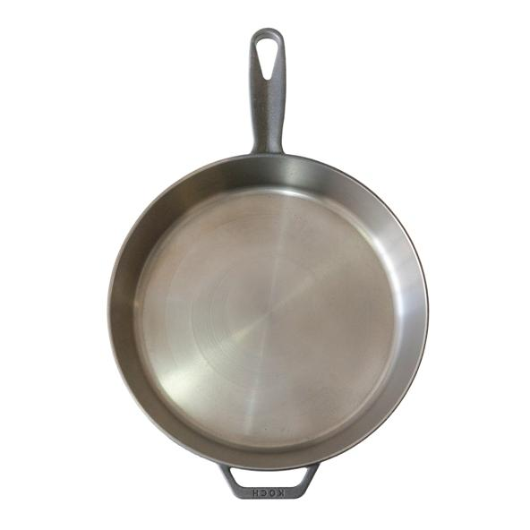 "No.306 / 10.25"" Machined Surface Handmade Cast Iron Skillet"