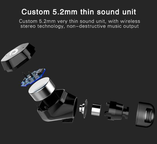 5b5fd6ca98d ... F8 Wireless Earphone Sports TWS True Wireless Earbuds auriculares  Bluetooth V5.0 for Smartphone and ...