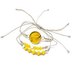 PULSERA AMARILLO  de Full of Grace