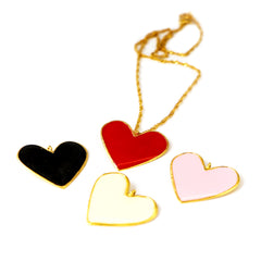 Dije love negro Con Cadena de MP Jewelry