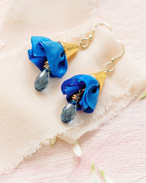 Crystal Drop Earrings  - Spring Colors