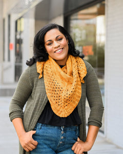 Lattice Shawlette - Knit to Order