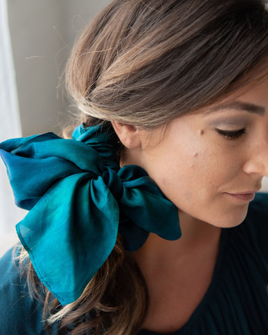 Evergreen Silk Scarf - Limited Edition