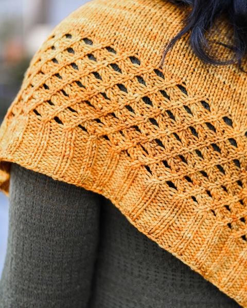 Lattice Shawlette