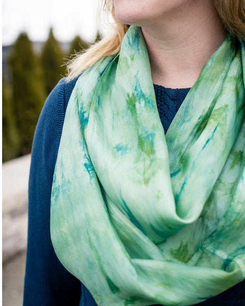 Juniper Silk Scarves - Limited Edition