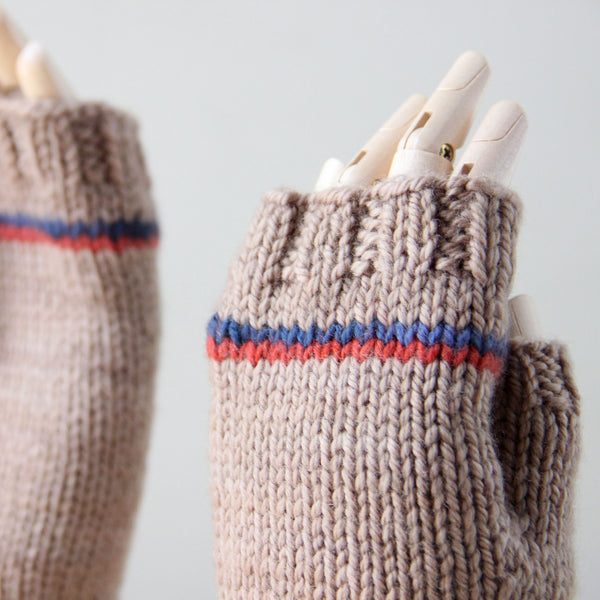 Last Chance KISS Mitts - Fawn Striped