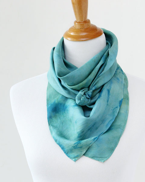 LAST CHANCE Juniper Silk Scarves - Limited Edition