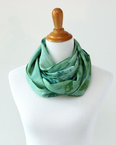 Juniper Silk Scarf - Limited Edition