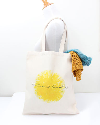Ten Thousand Dandelions Tote - Ready to Ship