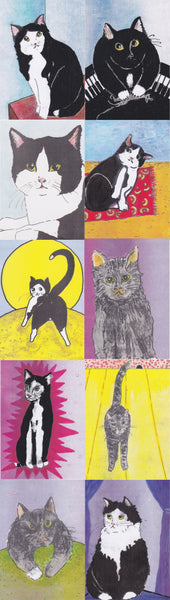Postcard series - Cats