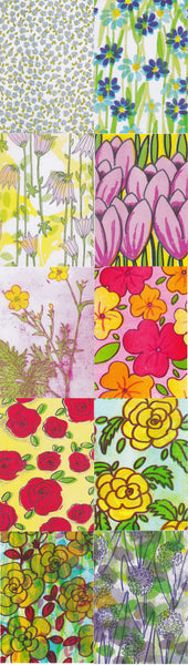 Postcard series - Flowers 2