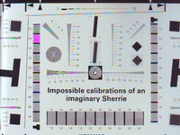 Impossible Calibrations Of An Imaginary Sherrie