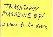 Trashtown Magazine 76  Matrassen A Place To Lie Down