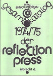 Geamtkatalog 1974/75 Der Reflection Press