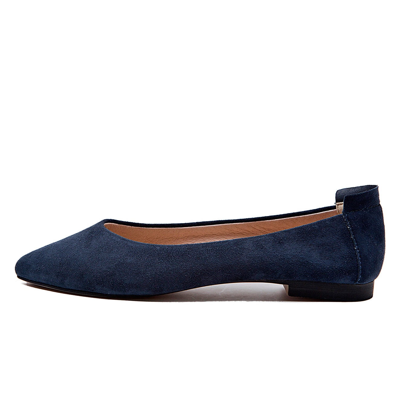 Extremely Soft Flats Shoes, Navy – BLUMEN