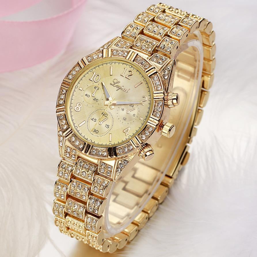 Iced out diamond relogio watch