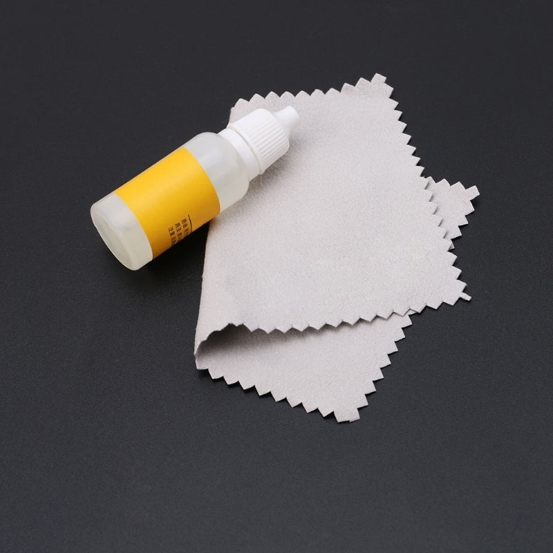 Jewelry Cleaning Cloth and Liquid