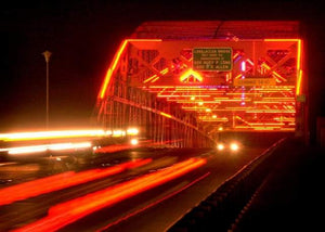 Neon Bridges Aglow