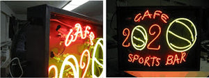Installing an Outdoor Neon Sign
