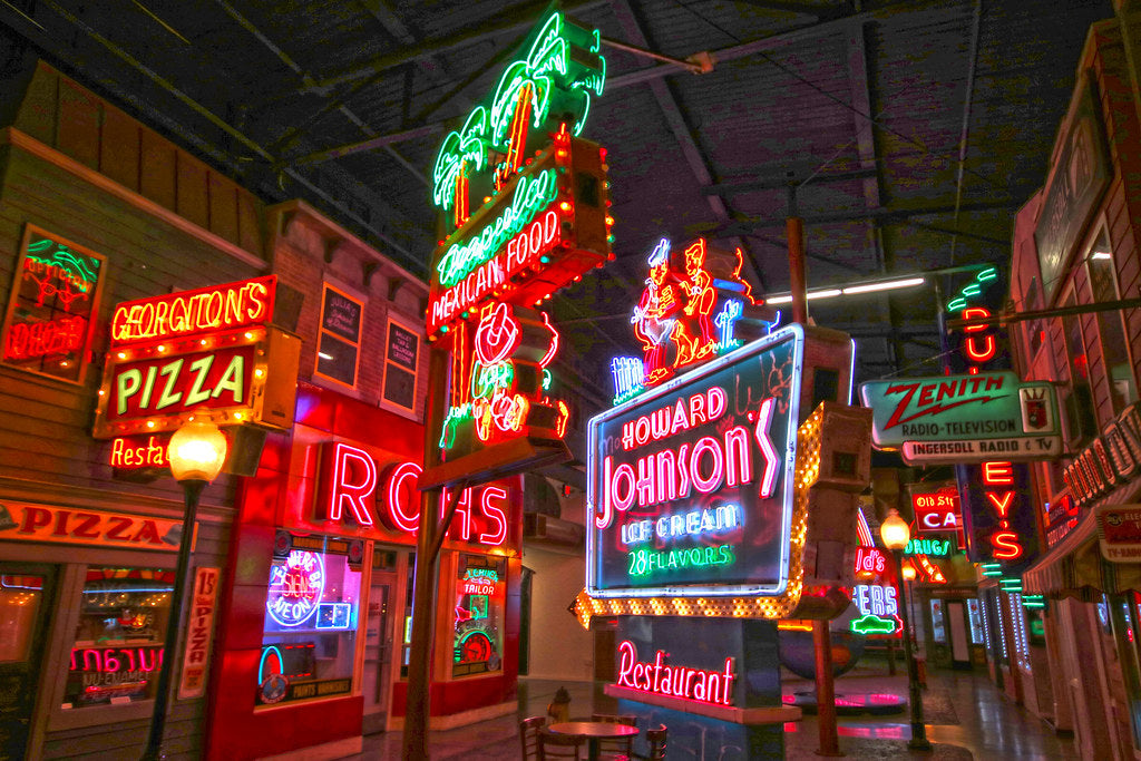 Top Four Neon Sign Museums to Visit
