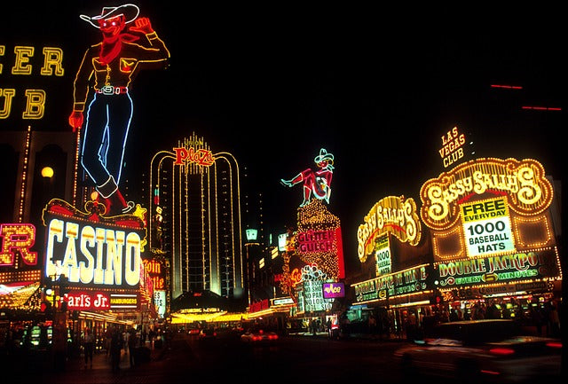 Vintage Neon Signs in Las Vegas