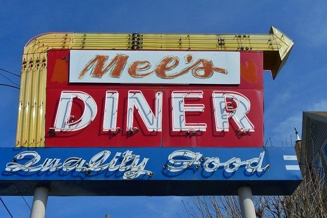 Creating a Classic 50's Style Diner Using Neon Signs