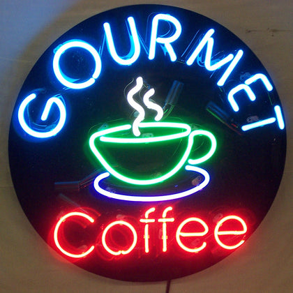 Gourmet Coffee Neon Signs