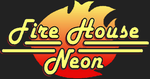 Fire House Neon Sign Logo