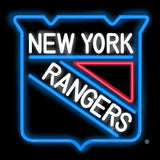New York Rangers Team Neon Sign