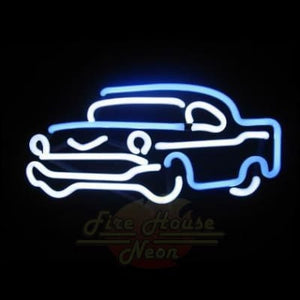 57 Chevy Car Neon Light Sign Sculpture - Neon Sculptures