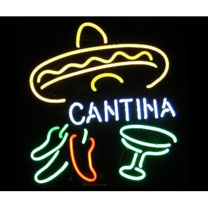 Cantina Neon Bar  Sign